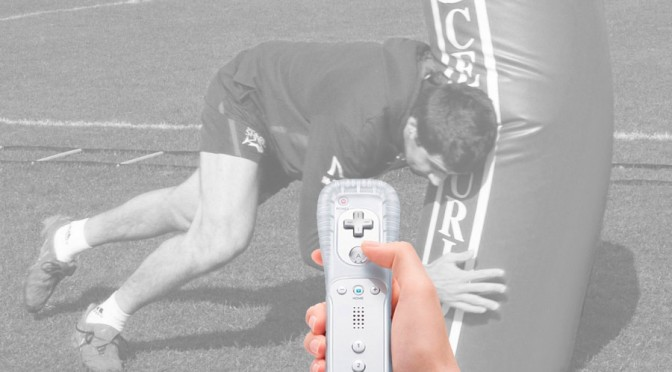 Improve tackles using a Wii remote control